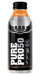 ABB Pure Pro 50, Chocolate Peanut Butter, 14.5 Oz X 12 Bottles