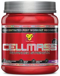 BSN Cellmass Amino Acids Powder, Grape, 50 Servings
