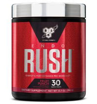 BSN Endorush Pre-Workout Powder, Fruit Punch, 30 Servings