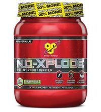 BSN, N.O.-Xplode, Pre-Workout Igniter, Green Apple, 2.45 lbs 60 Servings