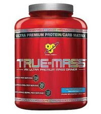 BSN True-Mass Ultra Premium Muscle Mass Gainer Vanilla 5.82 lbs 16 Servings