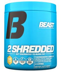 Beast Sports Nutrition, 2 Shredded, Orange Mango Flavor, 10.23 oz (290 g)