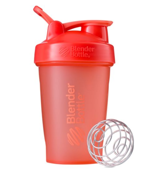 Blender Bottle Classic Loop Top Shaker Bottle, 20-Ounce, Coral