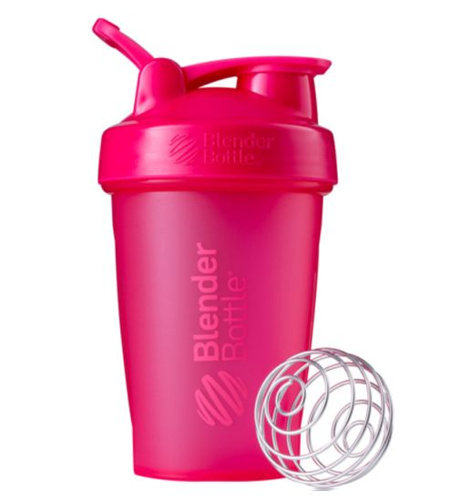 Blender Bottle Classic Loop Top Shaker Bottle, 20-Ounce, Pink