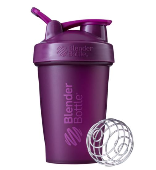 Blender Bottle Classic Loop Top Shaker Bottle, 20-Ounce, Plum