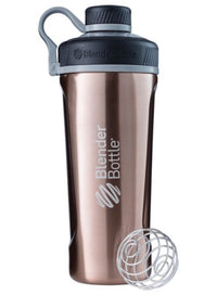 Blender Bottle Radian Insulated Stainless Steel Shaker Bottle, Copper, 26-Ounce