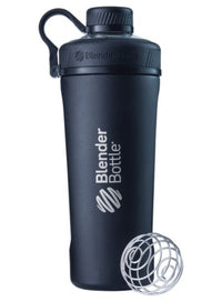 Blender Bottle Radian Insulated Stainless Steel Shaker Bottle, Matte Black, 26-Ounce