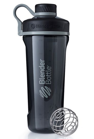 Blender Bottle Radian Tritan Shaker Bottle, Black, 32-Ounce