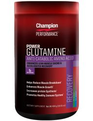 CHAMPION PERFORMANCE L-GLUTAMINE 454g UNFLAVORED
