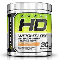 Cellucor, Super HD Thermogenic Fat Burner Powder for Weight Loss Peach Mango G4 Energy
