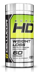 Cellucor Super HD Thermogenic Fat Burner, Fat Burners For Men & Women, Weight Loss Supplement, 60 Caps