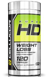 Cellucor Super Hd - Weight Loss - Energy - Fat Burner (120 Capsules)
