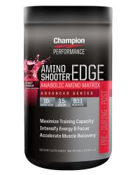 Champion Performance Amino Shooter Edge Fruit Punch 14 oz / 30 Servings