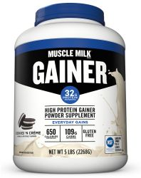 CytoSport Muscle Milk Gainer Cookies N Cream - 5 lbs
