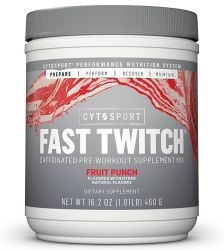 Cytosport Fast Twitch Fruit Punch 20 Servings (16.2 oz.)