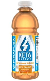 FinaFlex KETO Hydrate - KETO ORANGE (12 Bottles) 20oz