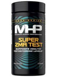 MHP Super ZMA, Supports Healthy Testosterone Levels, 120 Count