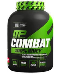 MusclePharm Combat 100% Whey Protein Powder, Strawberry, 2 Pound