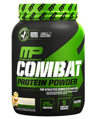 MusclePharm Combat Protein Powder, Cookies & Cream - 2 lb jar