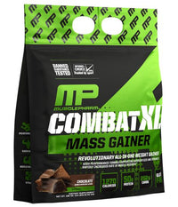 MusclePharm Combat XL Mass Gainer - CHOCOLATE (12 Pound Powder)