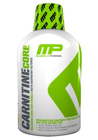 MusclePharm Essentials Carnitine Core, Carnitine, Weightloss helps Reduce Body Fat, Supports Athletic Performance and Endurance, Citrus, 30 Servings