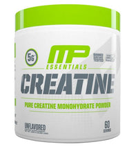 MusclePharm Essentials Micronized Creatine, Ultra-Pure 100% Creatine Monohydrate Powder, Muscle-Building, Protein Creatine Powder, Creatine Monohydrate Powder 300grs 60 servings