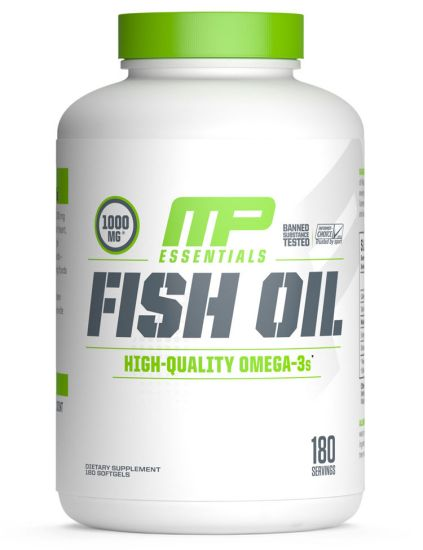 MusclePharm Fish Oil Essentials Omega 3, 180 Servings