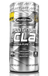 MuscleTech Platinum Pure CLA, Ultra Pure CLA, 800mg CLA per Serving, 90 Count