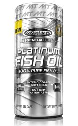 MuscleTech Platinum Pure Fish Oil Essential Series - 100 Softgels