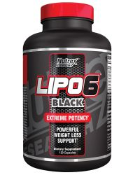 Nutrex Research Lipo-6 Black Extreme Potency, 120 Count