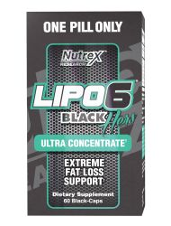Nutrex Research Lipo-6 Black Ultra Hers Concentrate Supplement, 60 Count