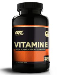 Optimum Nutrition Vitamin E 400iu 200 Soft Gel Caps