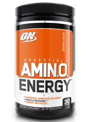 Optimum Nutrition Essential Amino Energy, Orange Cooler, Preworkout and Essential Amino Acids,with Green Tea and Green Coffee Extract, 30 Servings