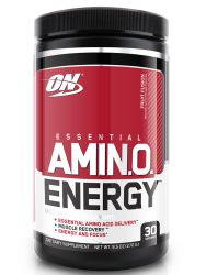 Optimum Nutrition Amino Energy Fruit Fusion Pre-workout and Essential Amino Acids with Green Tea and Green Coffee Extract (30 Servings)