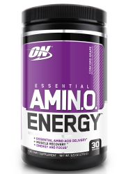 Optimum Nutrition Essential Amino Energy, Concord Grape, Preworkout and Essential Amino Acids,with Green Tea and Green Coffee Extract, 30 Servings