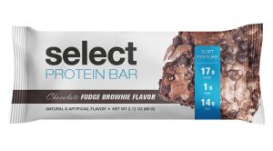 PEScience Select Protein Bar, Chocolate Fudge Brownie, Low Carb, Gluten Free, Case of 12 Bars