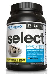 PEScience Select Protein, Cookies and Cream, 27 Serving 2 lbs.
