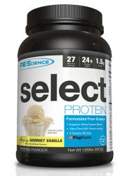 PEScience Select Protein, Gourmet Vanilla, 27 Serving, 2 lbs.