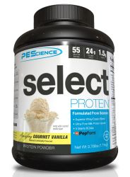 PEScience Select Protein, Gourmet Vanilla, 55 Serving 4 lbs.