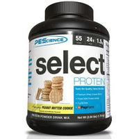 PEScience Select Protein, Peanut Butter Cookie, 55 Serving 4 lbs.