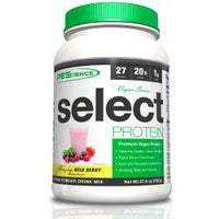 PEScience Select Vegan Protein, Wild Berry, 27 Servings