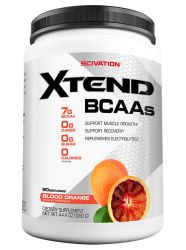Scivation Xtend BCAA Powder, Branched Chain Amino Acids, BCAAs, Blood Orange, 90 Servings