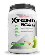 Scivation Xtend BCAA Powder, Branched Chain Amino Acids, BCAAs, Green Apple Explosion, 90 Servings