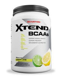 Scivation Xtend BCAA Powder, Branched Chain Amino Acids, BCAAs, Lemon Lime Sour, 90 Servings
