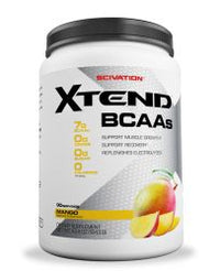 Scivation Xtend BCAA Powder, Branched Chain Amino Acids, BCAAs,Mango Madness, 90 Servings