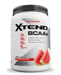 Scivation Xtend BCAA Powder, Branched Chain Amino Acids, BCAAs, Watermelon Madness, 90 Servings