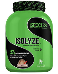 Species Nutrition Isolyze Chocolate Milk, 3.1 Pound