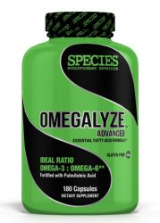 Species Nutrition Omegalyze Advance Complete Essential Fatty Acid Supplement 180 Capsules