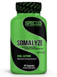 Species Nutrition Somalyze - 90 Capsules (Night Time Fat Burners)