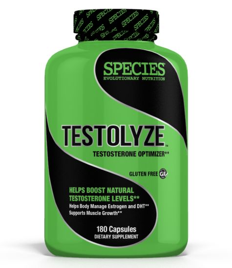 Species Nutrition Testolyze, 180 Count by Species Nutrition